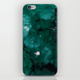 Emerald Drusy iPhone Skin
