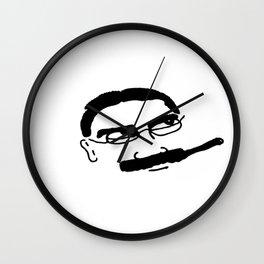 Groucho Marx Knit. Wall Clock