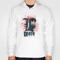 death note Hoodies featuring Death Note by feimyconcepts05