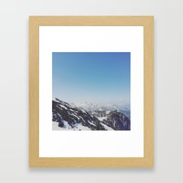 Untersberg, Austria Framed Art Print