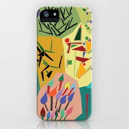collage play iPhone Case
