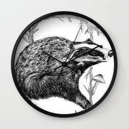 Forbidden Forest Wall Clock