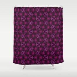 Blueberry blossom 3 Shower Curtain