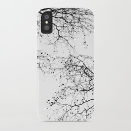 BLACK BRANCHES 2 iPhone Case