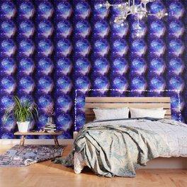 Galaxy Nebula Blue Wallpaper