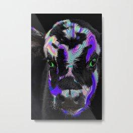 Cowlographic Metal Print
