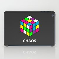 chaos iPad Cases featuring Chaos by Dizzy Moments