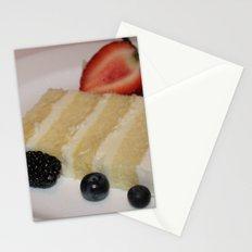 Slice of a Wedding Cake Stationery Cards