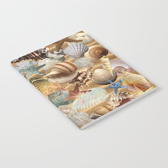 Sea Shell Mania Notebook