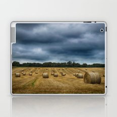 straw bales Laptop & iPad Skin