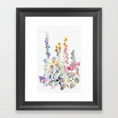 fiori II Framed Art Print
