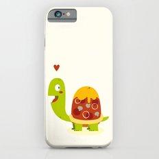 Pizza turtle iPhone 6s Slim Case