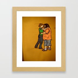 come back with me Framed Art Print