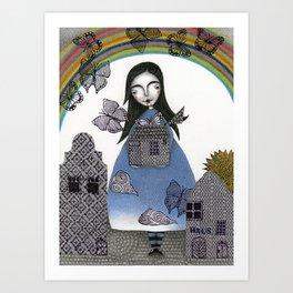 Rainbow Mine (4) Art Print