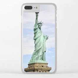 American Queen Clear iPhone Case