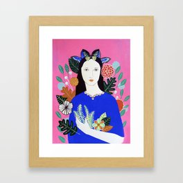 Amrita Framed Art Print