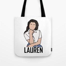 Lauren Jauregui Tote Bag