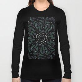 Dark Mandala #4 Long Sleeve T-shirt