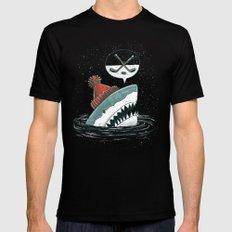 Hockey Shark Mens Fitted Tee Black MEDIUM