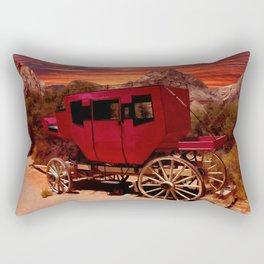 Days Gone By Rectangular Pillow