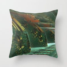 Cannon Battery (Basic) Throw Pillow