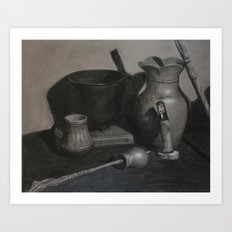 Native American Still Life Art Print