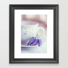 A taste of spring Framed Art Print