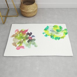180802 Beautiful Rejection  2 | Colorful Abstract Rug