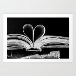 The Heart that Bends doesn't break. Art Print