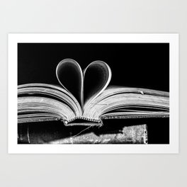 The Heart that Bends doesn't break. Art Print