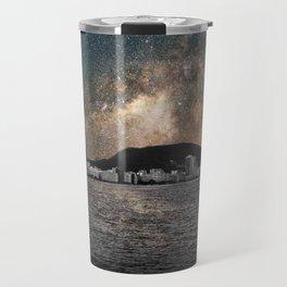 Shiny Sky Over Copacabana Travel Mug