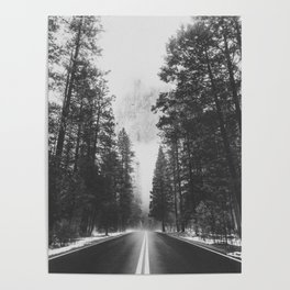 ROAD TRIP IV / Yosemite, California Poster