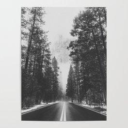 ROAD TRIP IV / Yosemite, California Poster