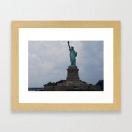 The Lady Liberty Framed Art Print