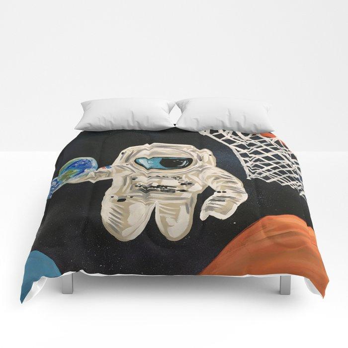 Space Games Comforters