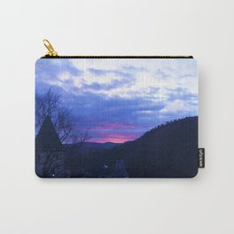 Sunset over the Castle Carry-All Pouch