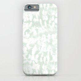Inverse Ice Dye Green Tea iPhone Case