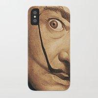 dali iPhone & iPod Cases featuring Dali by Fantastikat