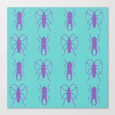Beetle Grid V1 Canvas Print