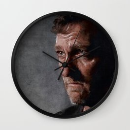 Richard From The Kingdom - Bury Me Here - The Walking Dead Wall Clock