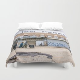 We Run These Streets Duvet Cover