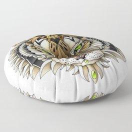 Ornate Tiger Floor Pillow