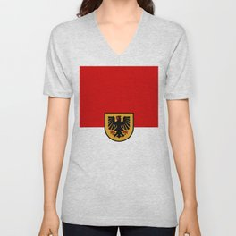 Flag of Dortmund Unisex V-Neck