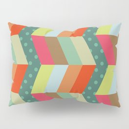 retro pattern and observatory 1 Pillow Sham
