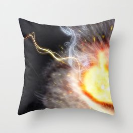 Eye of the Cat Throw Pillow