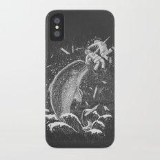 Narwhal Skewer iPhone X Slim Case