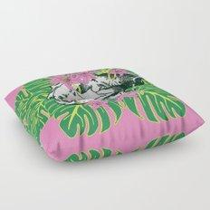 Deathvslife3 Floor Pillow