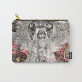 Sphinx in Roma - Red Carry-All Pouch