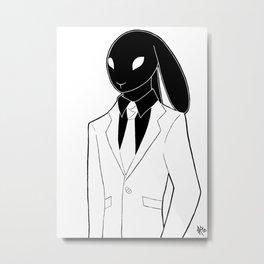 The Hare II Metal Print