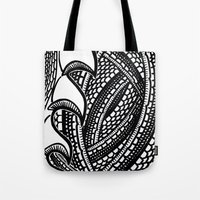 scales Tote Bags featuring Scales by Ed May